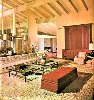 The Mind's Eye - A Balancing Act House Beautiful: Mad Men Style-The Best of the 1960's. September 1961 Image